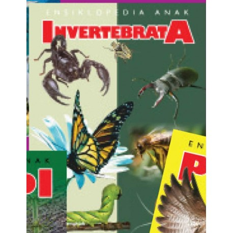 Ensiklopedia Anak: Invertebrata